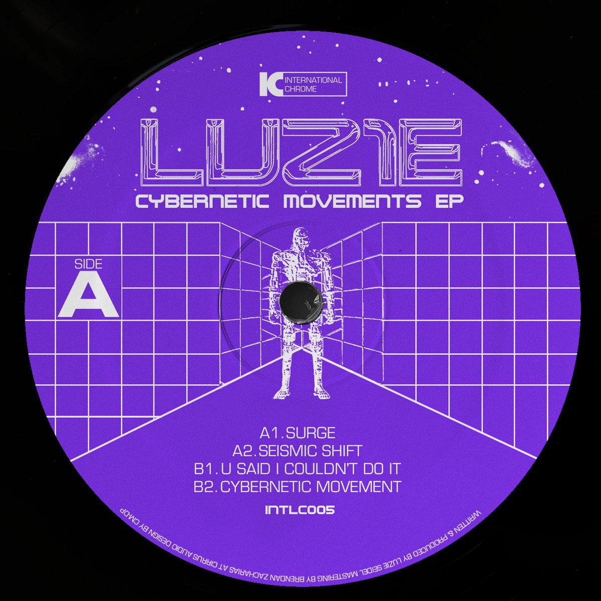 Luz1e - Cybernetic Movements EP artwork